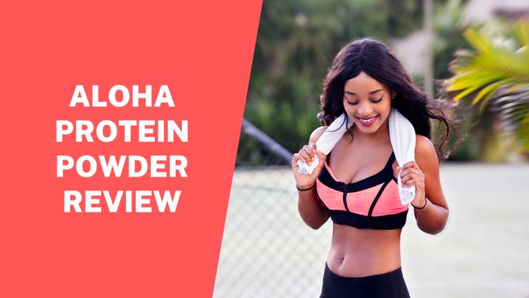 aloha protein powder review, header