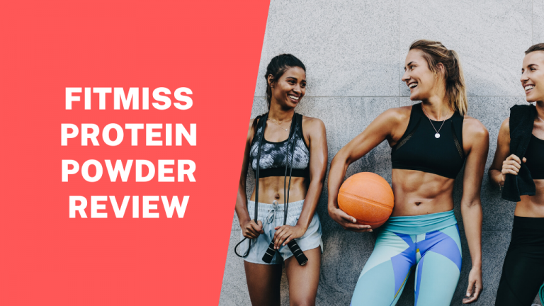 fitmiss protein powder review, header. three fit women talking post-workout.